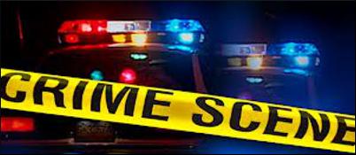 police siren crime scene